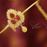ruby-cz-fancy-south-indian-traditional-hand-jewellery-string-vanki-aravanki-collections-online