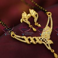 cz-pendant-long-mangalsutra-indian-traditional-auspicious-jewellery-online-two-strand-black-beads-mala