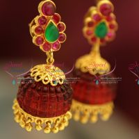 temple-kempu-red-color-acrylic-drops-jhumka-latest-gold-design-fashion-jewelry-online