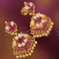 south-screwback-ruby-emerald-big-earrings-gold-plated-fashion-imitation-jewelry-earrings