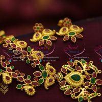 ruby-emerald-latest-gold-design-exclusive-long-haram-grand-bridal-jewellery-online-fashion