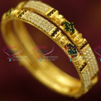 2.6-size-gold-plated-stone-bangles-combo-offer-lowest-price-clearance-sale