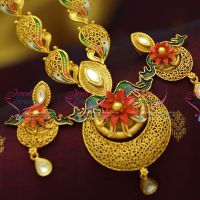 jadau-kundan-electroforming-real-gold-foil-antique-handmade-painting-jewellery-look