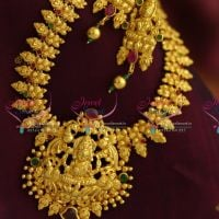 one-gram-gold-plated-jewellery-south-indian-traditional-floral-haram-temple-pendant-online