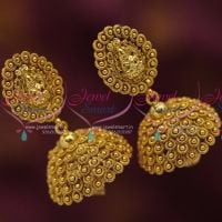 antique-gold-plated-nagasu-nakshi-indian-traditional-temple-laxmi-god-design-jhumka-earrings