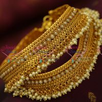 Antique-pearl-payal-anklet-legchain-fancy-dulhan-fashion-jewellery-online-shopping
