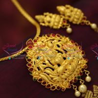 one-gram-gold-plated-real-look-design-temple-kemp-pendant-earrings-collections-jewellery-online