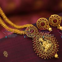 antique-gold-plated-ghajiri-chain-fancy-mala-temple-pendant-fashion-jewellery-necklace-buy-online-offer