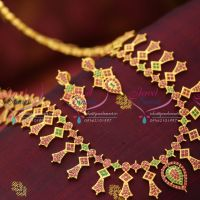south-indian-traditional-ad-ruby-gold-design-finish-haram-long-necklace-fashion-jewelry-online