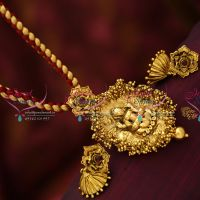 antique-gold-plated-nakshi-nagas-god-temple-jewellery-pendant-earrings-buy-online-fashion-jewellery