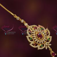cz-ruby-gold-plated-traditional-forehead-jewellery-nethichutti-buy-online-offer-price