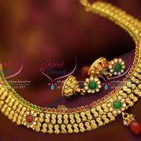 antique-gold-plated-s-design-multi-colour-fancy-fashion-jewellery-jhumka-earrings