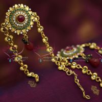 antique-gold-plated-vanki-bajuband-artificial-wedding-dulhan-jewellery-buy-online-lowest-price