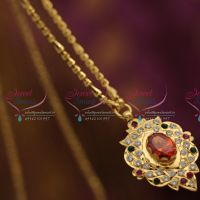 south-indian-traditional-gold-design-handwork-pendant-one-gram-chain-buy-online