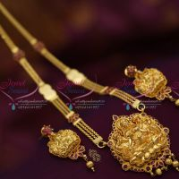 south-indian-traditional-haram-temple-laxmi-pendant-ethnic-jewellery-gold-design-online