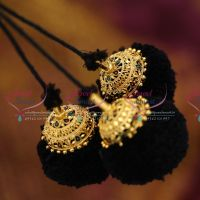 hair-jadai-plain-kuppulu-round-3-strand-art-silk-yarn-classical-dance-wedding-jewellery