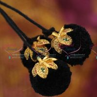 hair-jadai-stone-kunjalam-kuppulu-round-3-strand-art-silk-yarn-classical-dance-wedding-jewellery