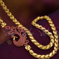 gold-plated-chain-24-inches-ruby-side-pendant-mugappu-fancy-jewellery-buy-online
