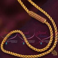 ruby-mugappu-thali-kodi-chain-24-inches-4mm-chains-gold-plated-guaranteed-jewellery