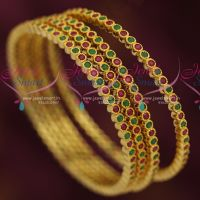 ruby-emerald-rich-royal-look-design-gold-plated-bangles-4-pcs-set-shop-online-lowest-price