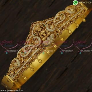 23 to 35 Inches Girls Kids Temple Vaddanam Latest Gold Oddiyanam Designs Online