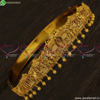 31 to 41 Inches Madurai Meenakshi Temple Vaddanam Belt Wedding Jewellery H23541