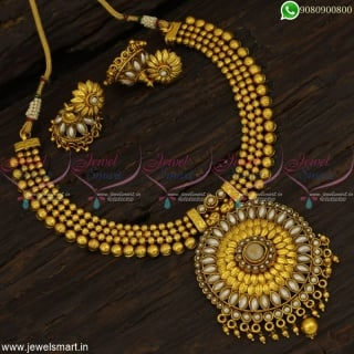 4 Rows Beads Antique Necklace Set Sun Model Pendant New Fashion Jewellery NL22919