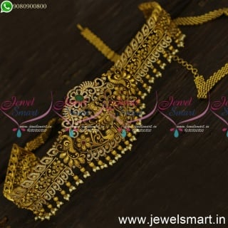 Amazing Antique Temple Vaddanam As real as Gold for Wedding Online Sale