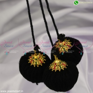 Andhra Style Jada Kuppulu Low Price Traditional Accessories for Hair Round Caps H23036