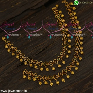 Antique Fashion Jewellery Payal Set For Bride Latest Designs Online P23962