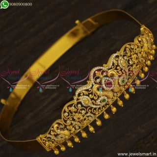 Baby Vaddanam Antique Gold Jewellery Designs Latest Trending Collections for Kids