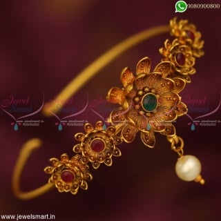 Bangle Type Bajuband Design Latest Floral Bridal Jewellery Designs Online