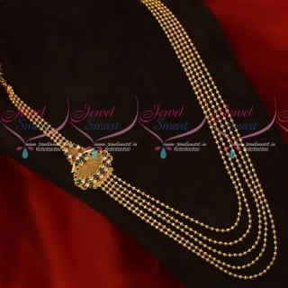Beads Model Layered Necklace South Indian Jewellery New Fashion Lowest Price NL17799A