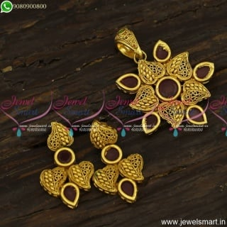 Beautiful Small Gold Dollar Designs Antique Fashion Jewellery Online Shopping PS23917