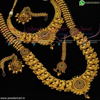 Bridal Jewellery Set Wedding Imitation Collections Complete Set Premium Design BR20614