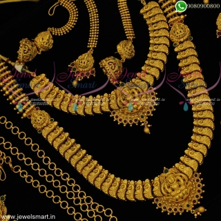 Bridal Jewellery Set Wedding Collections Complete Set Premium Designs BR20613