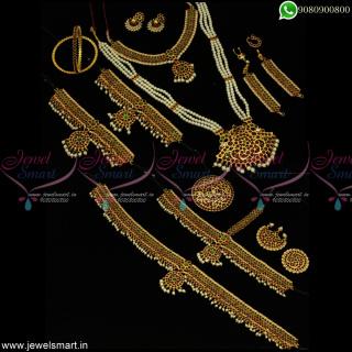 Classical Dance Jewellery Kemp Pearls Low Price Full Combo Set Online