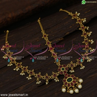Jewellery For Wedding Damini Mathapatti South Indian Traditional Designs H21437