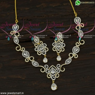 Designer Jewellery Sets Diamond Necklace Collections Now in Fashion NL21894
