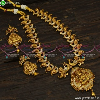 Exceptional Temple Jewellery Ideas For Wedding Nakshi Necklace Set Antique Collections NL23535