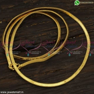 Famous Regular Selling Gold Chain Designs For Women Covering Jewellery Online C23163
