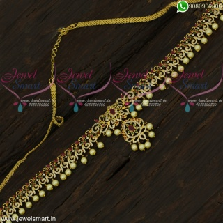 Fanciful Wedding Jewellery New Hip Chain Sparkling Stones Collections H22447