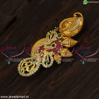 Fancy Saree Brooch New Design Fashion Accessory For Women Online SP21421