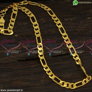 Fearless Looking Gold Plated Chains Popularly Called Ajit Chain Online C23248