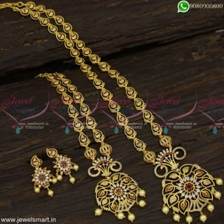 Festive Offer Long Necklace Buying Ideas Value For Money Gold Plated Jewellery NL23233