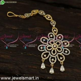 Flower Dollar Ideas Papidi Billa for Brides Jewellery In Rose Gold Silver Accessories T24095