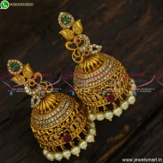 Gorgeous Big Size Jhumka Earrings For Wedding and Game Shows Online