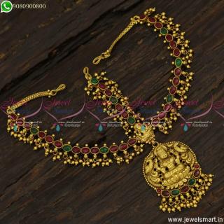 Grand Bridal Muhurtham Jewellery Temple Matha Patti Online Traditional T23421