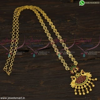 Imitation Jewellery Wholesale Gold Chain Designs Fancy Model Pendant Online
