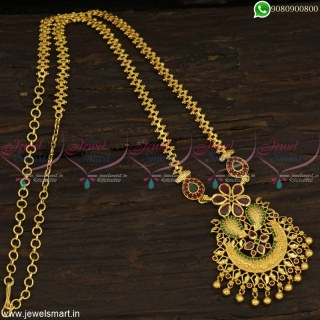 Immense Look Dollar Chains For Women Gold Covering Fashion Jewellery Wholesale Online PS22869